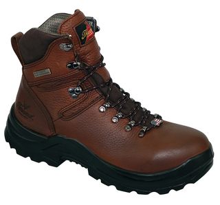 "OMNI™ SERIES WATERPROOF 6"" BROWN PLAIN TOE-Thorogood Shoes"