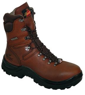 "OMNI™ SERIES ? WATERPROOF ? 8"" BROWN PLAIN TOE-Thorogood Shoes"