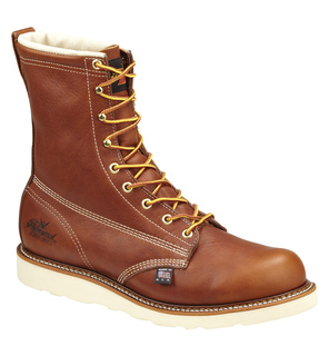 "814-4364 8"" Plain Toe (Non Safety)-Thorogood Shoes"