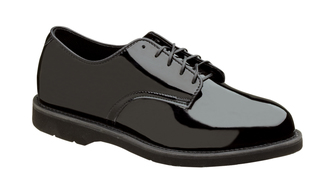 831-6027 Poromeric Oxford Crepe Black-Thorogood Shoes