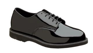 831-6027 Poromeric Oxford Crepe Black-Thorogood Shoes