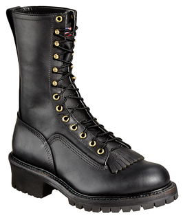 """834-6371 10"""" Wildland Fire Boot With Removable Kiltie-Thorogood Shoes"""