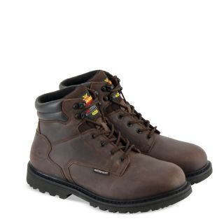 V-Series Waterproof/Insulated 6 Crazyhorse-Thorogood Shoes
