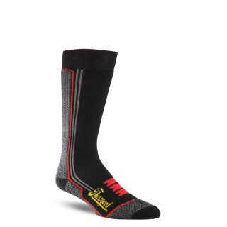 Tg heavy duty crew sock blk-Thorogood Shoes