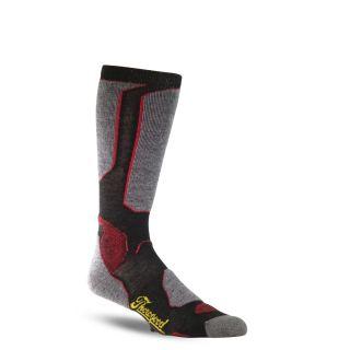 Tg light duty crew sock black-Thorogood Shoes