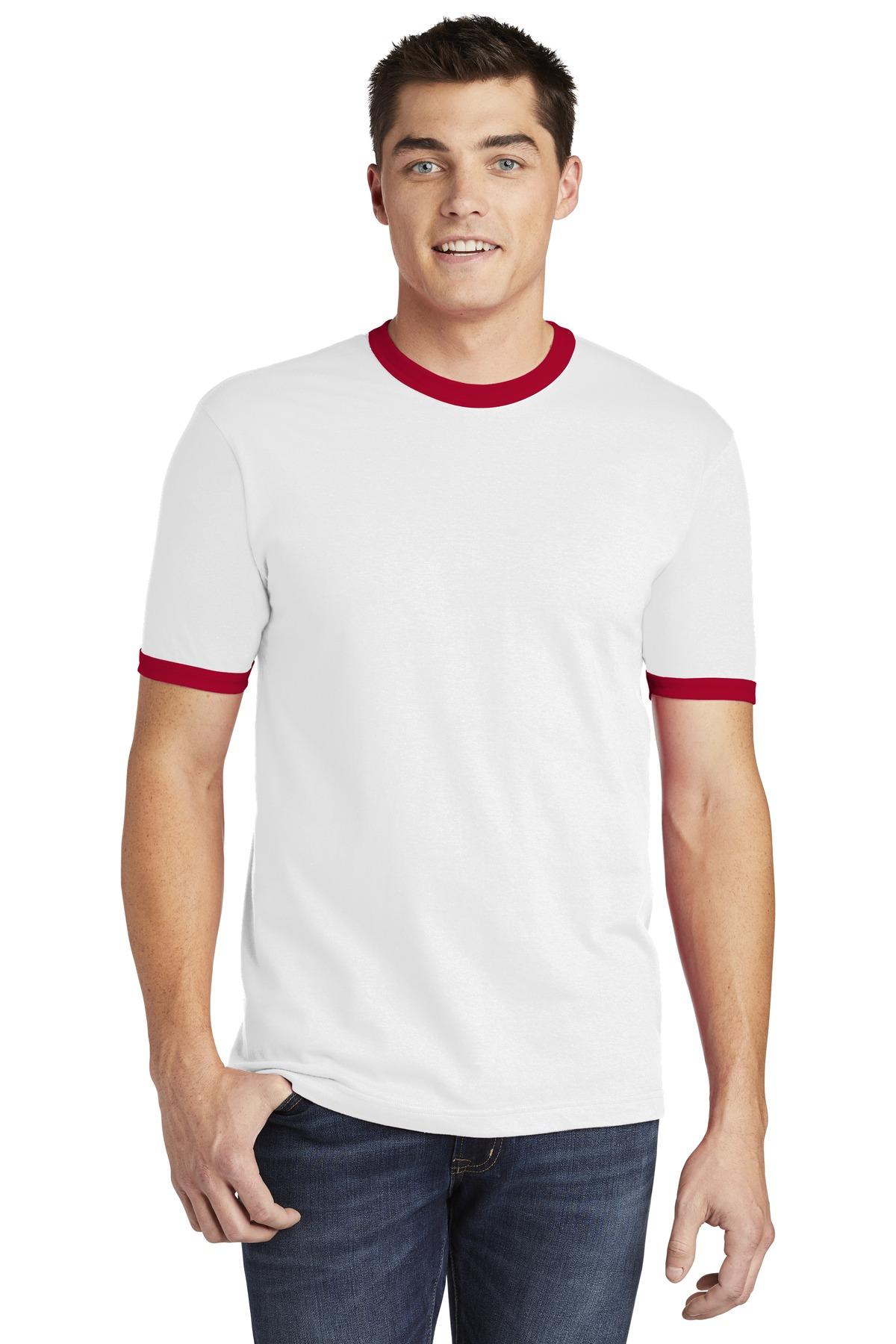 70e8e41f Buy American Apparel ® Fine Jersey Ringer T-Shirt. - Anvil Online at ...