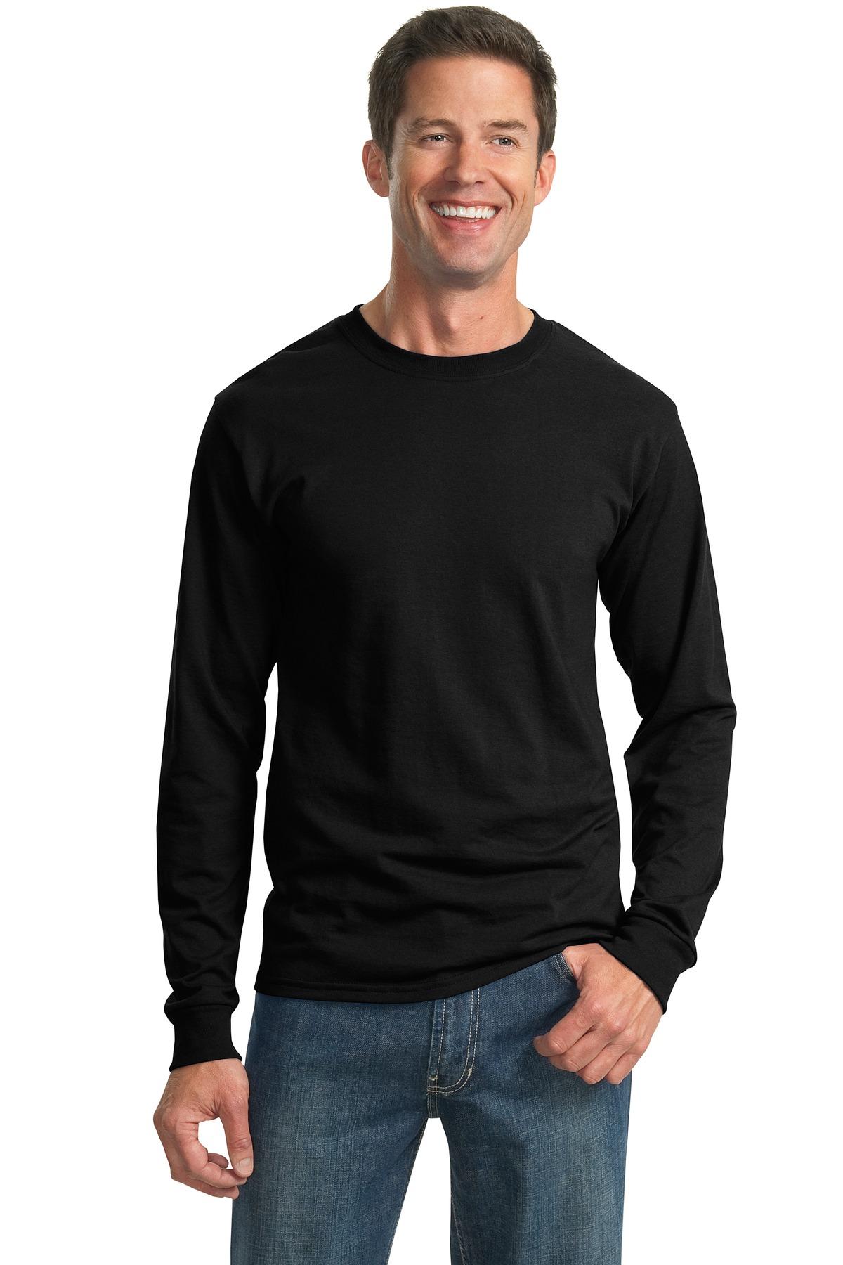Jerzees® - Dri-Power® Active 50/50 Cotton/Poly Long Sleeve T-Shirt.-