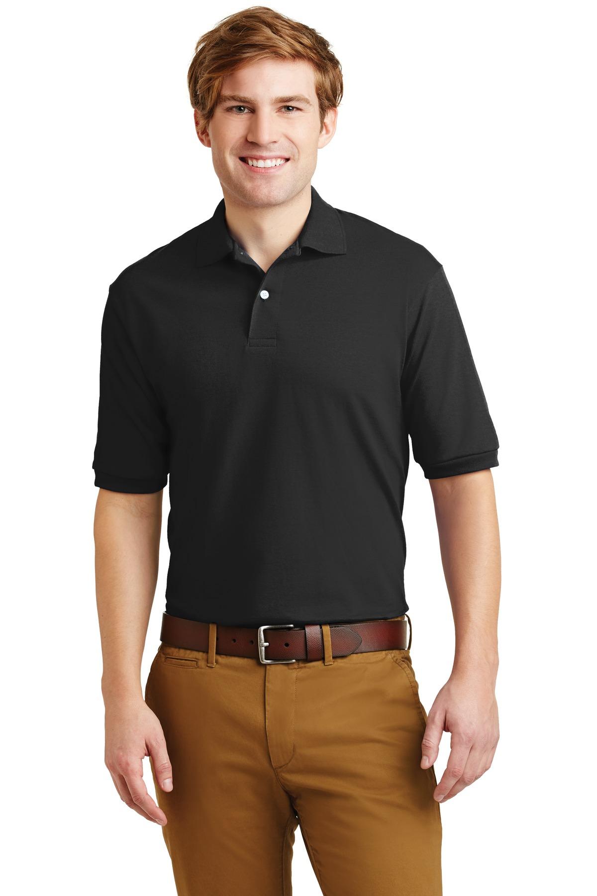Jerzees® - SpotShield 5.6-Ounce Jersey Knit Sport Shirt.-Jerzees