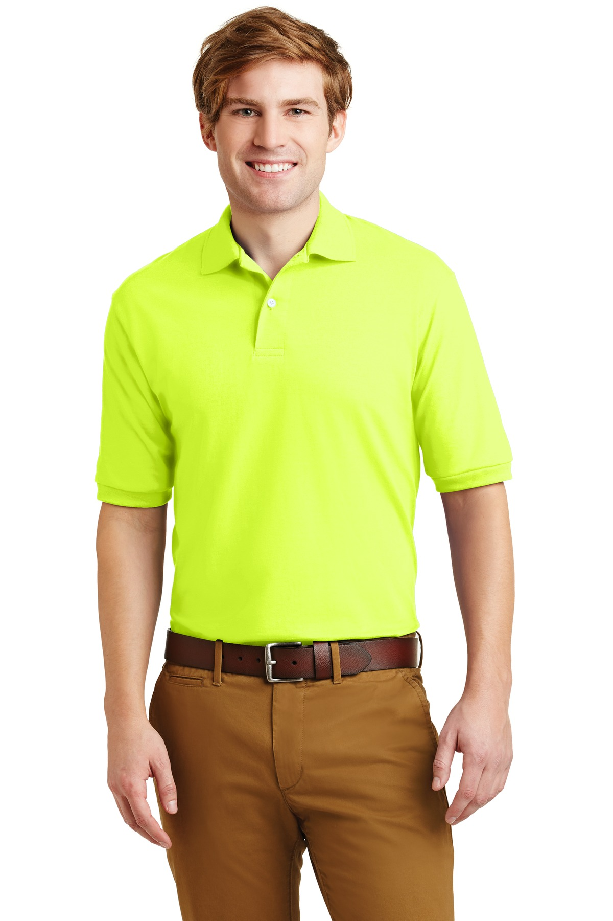 Jerzees® - SpotShield 5.6-Ounce Jersey Knit Sport Shirt.-Jerzees
