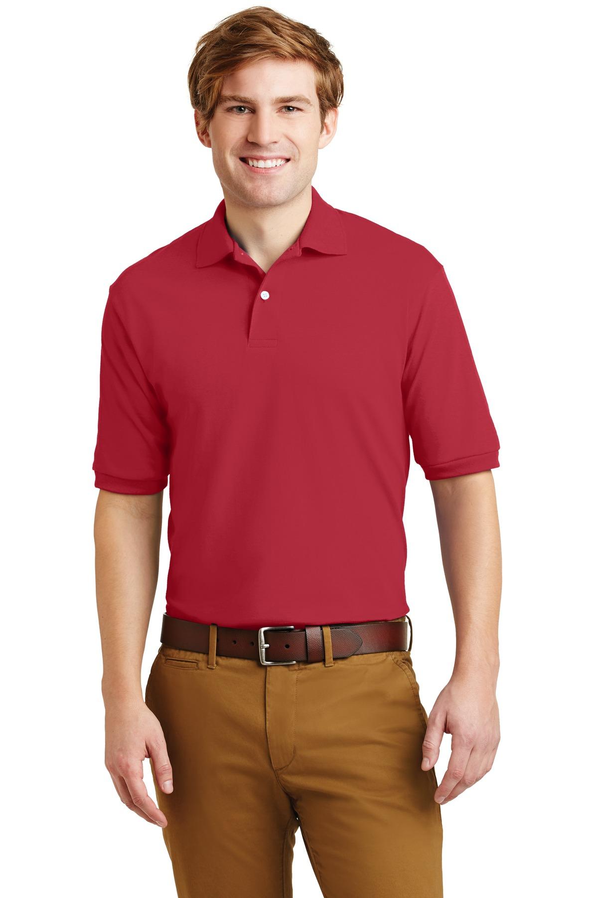 Jerzees® - SpotShield 5.6-Ounce Jersey Knit Sport Shirt.-