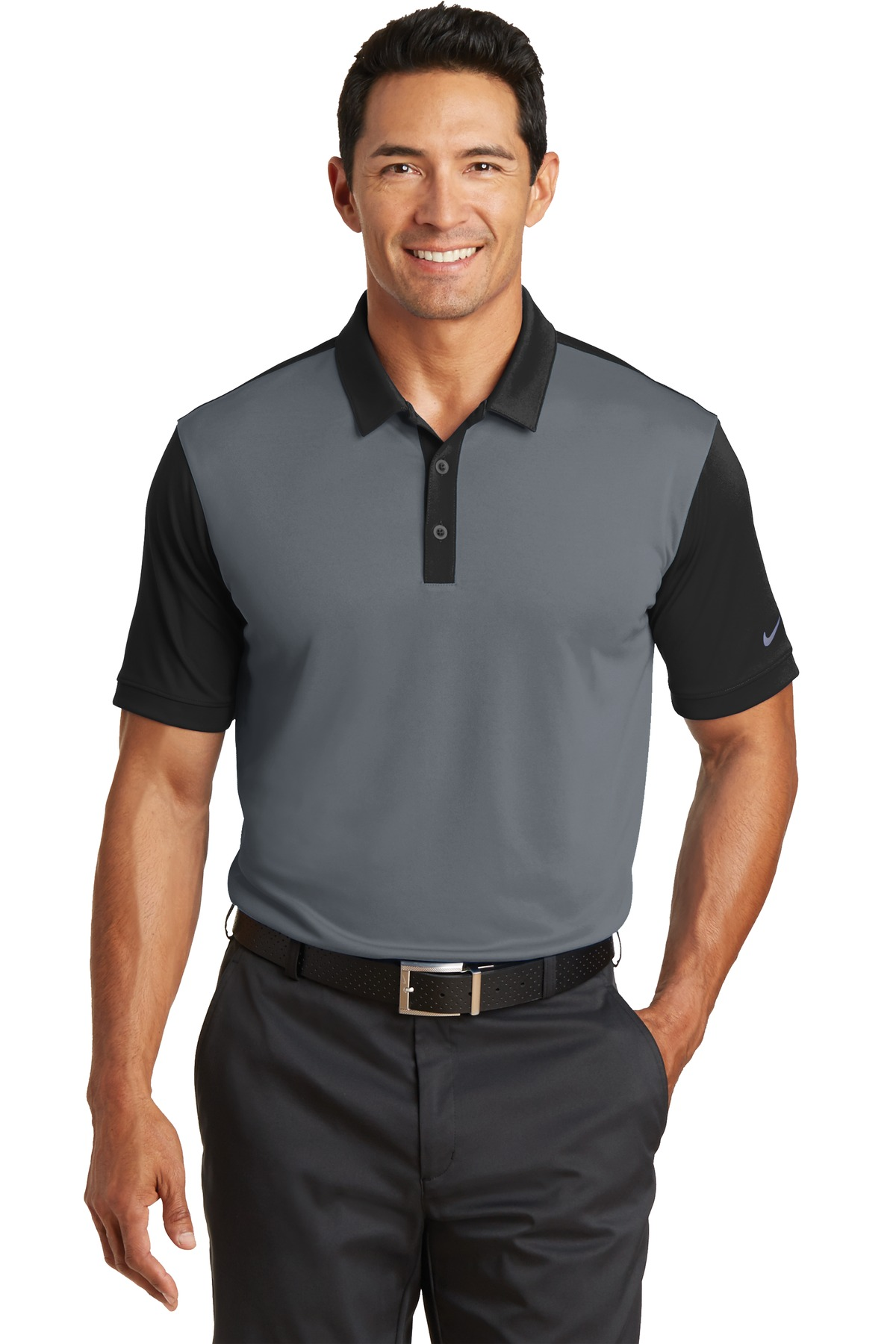 Buy Nike Dri Fit Colorblock Icon Modern Fit Polo Nike Online At