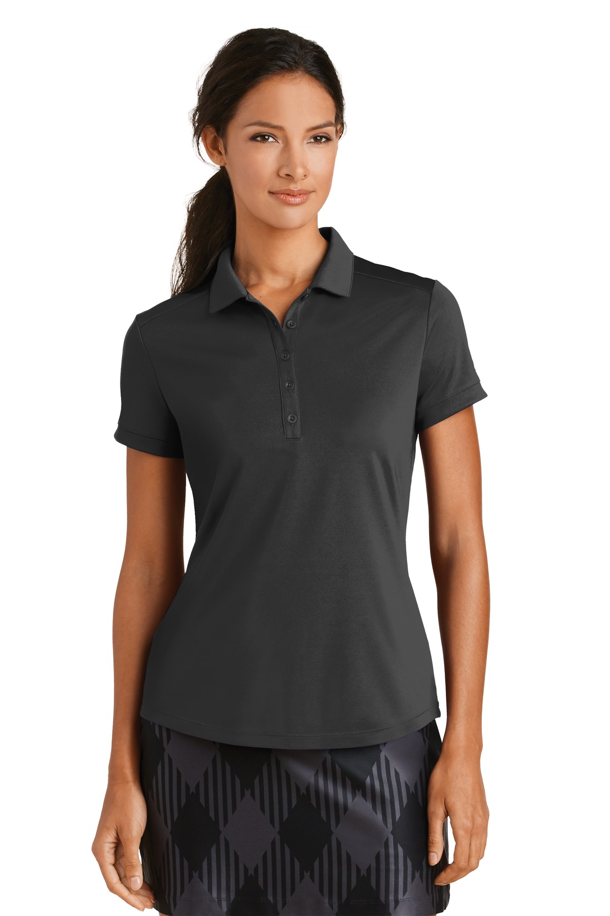 6d76333d Buy Nike Ladies Dri-FIT Players Modern Fit Polo. - Nike Online at ...