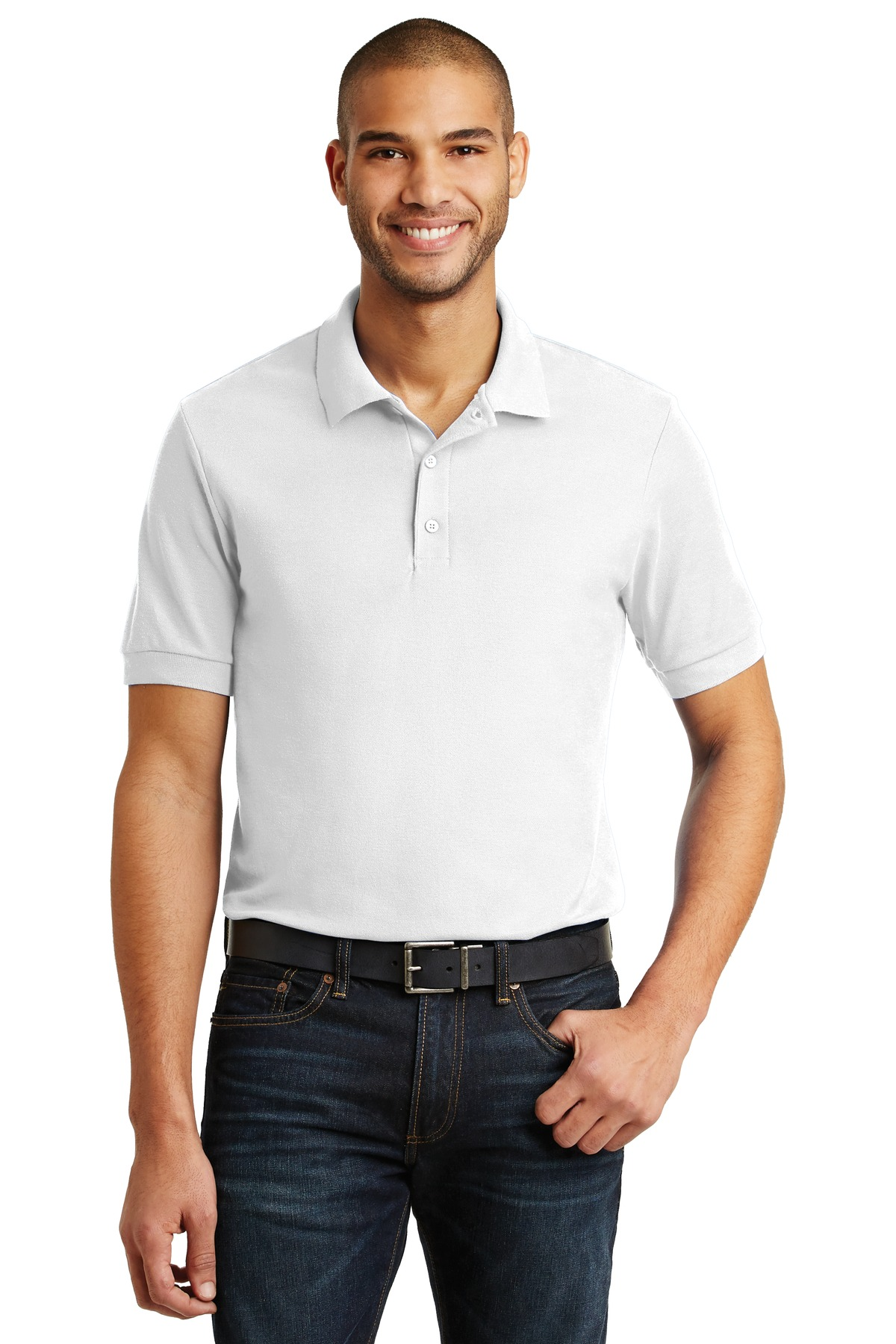 Gildan® 6.6-Ounce 100% Double Pique Cotton Sport Shirt.-Gildan