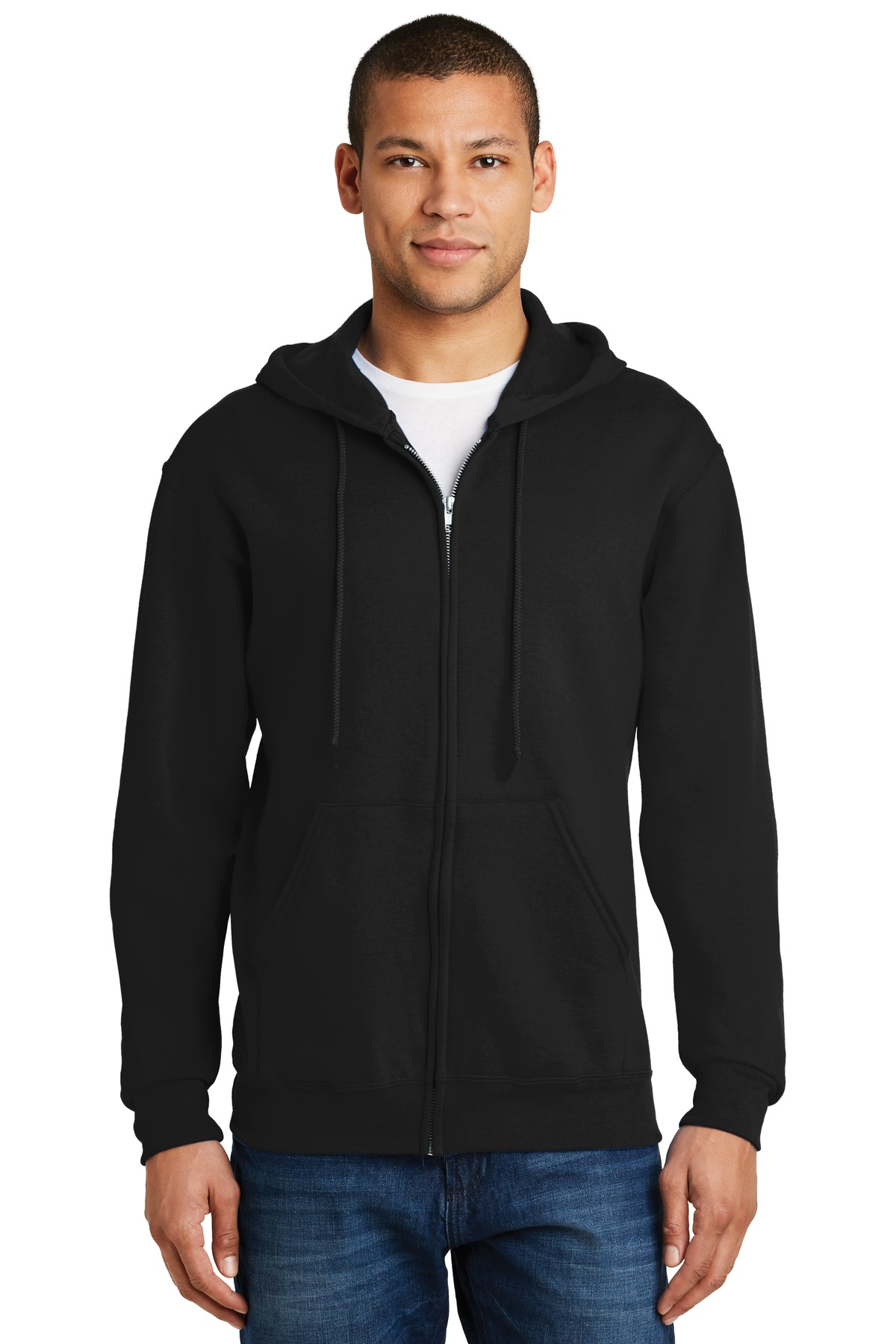 Jerzees® - NuBlend® Full-Zip Hooded Sweatshirt.-