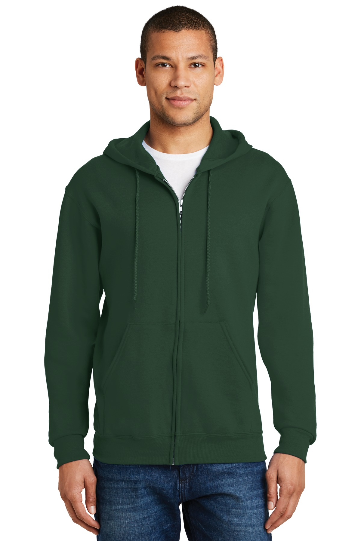 Jerzees® - NuBlend® Full-Zip Hooded Sweatshirt.-Jerzees