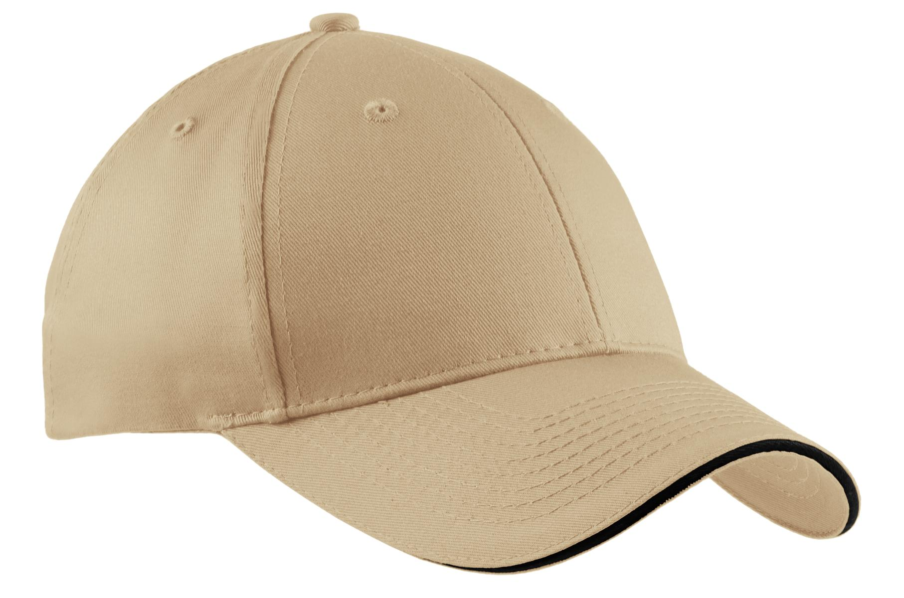 Port & Company® - Sandwich Bill Cap. WITH YOUR COMPANY NAME OR LOGO