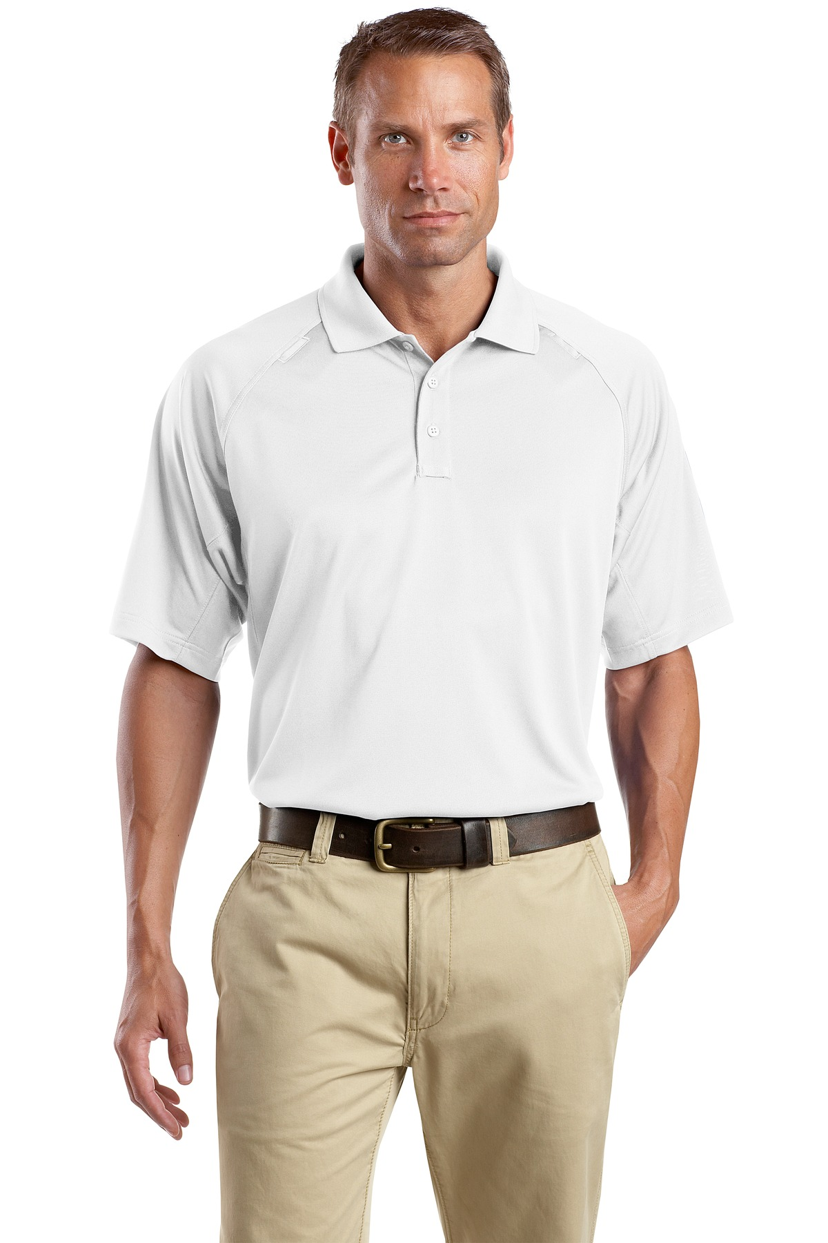 CornerStone® Tall Select Snag-Proof SUMMER Tactical Polo.-CornerStone