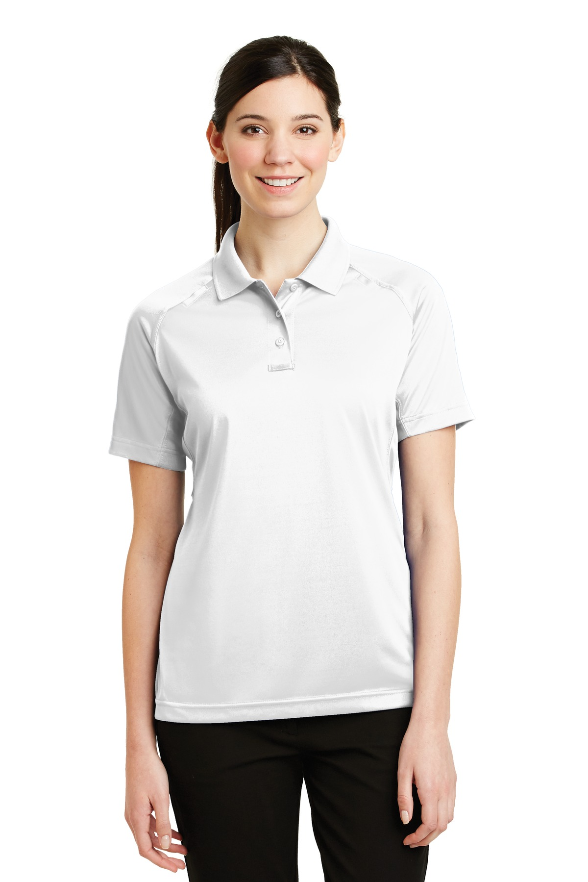 CornerStone® - Ladies Select Snag-Proof Tactical SUMMER Polo.-CornerStone