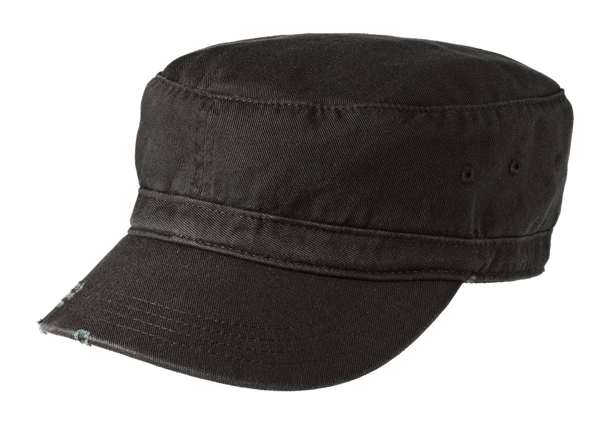 District Distressed Military Hat-District