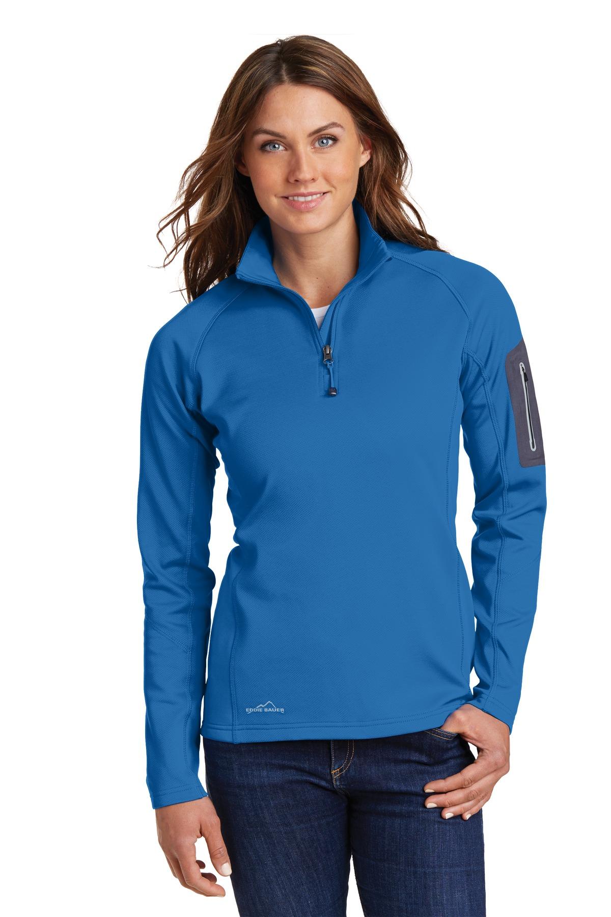 Eddie Bauer® Ladies 1/2-Zip Performance Fleece.-Eddie Bauer