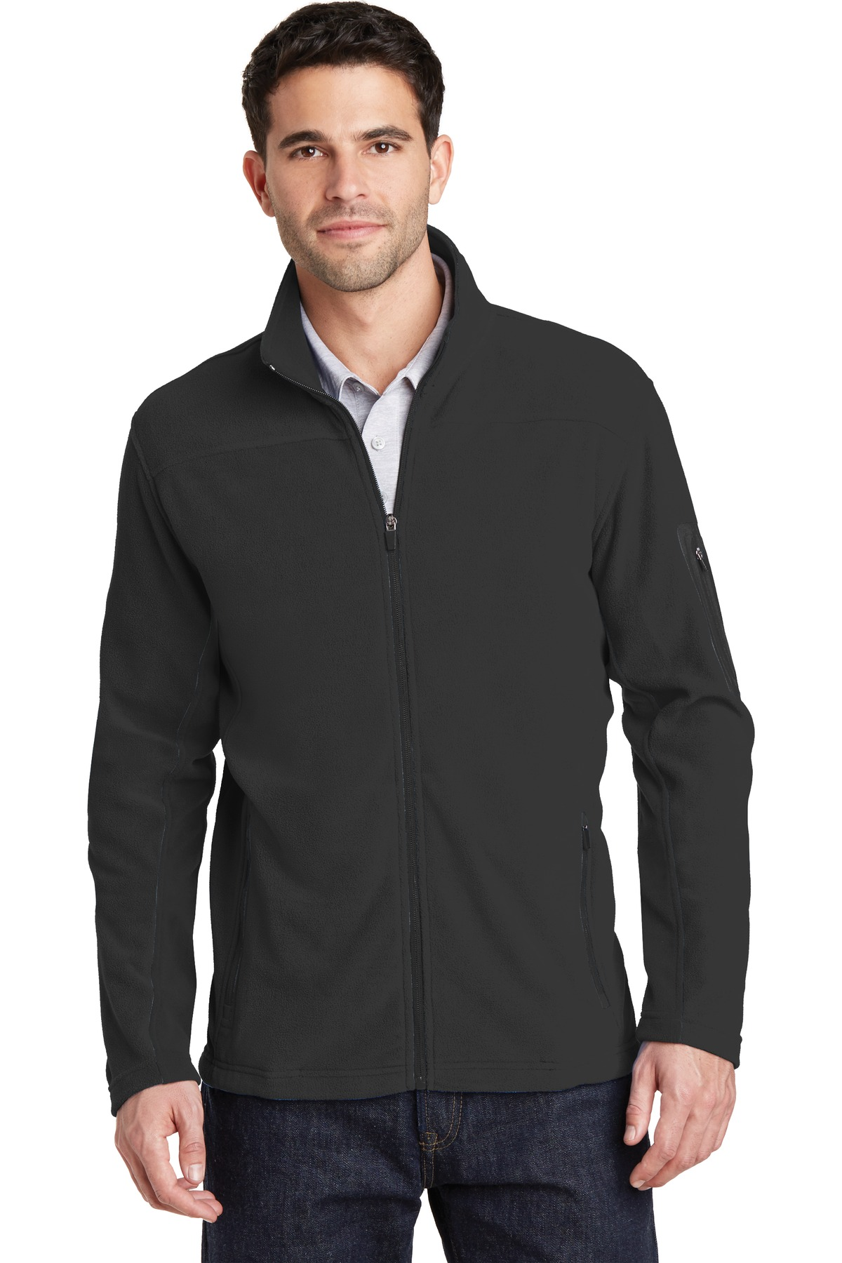 Port Authority Summit Fleece Full-Zip Jacket. -