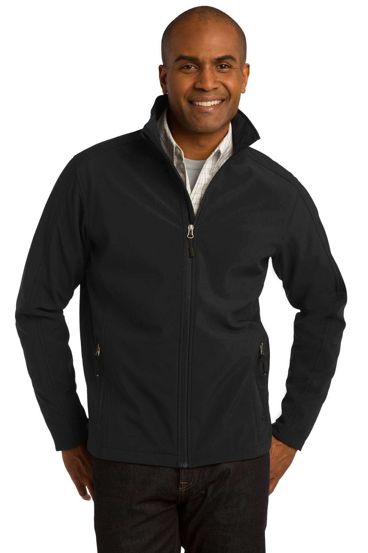 Wake Forest Mens Core Soft Shell Jacket-Port Authority