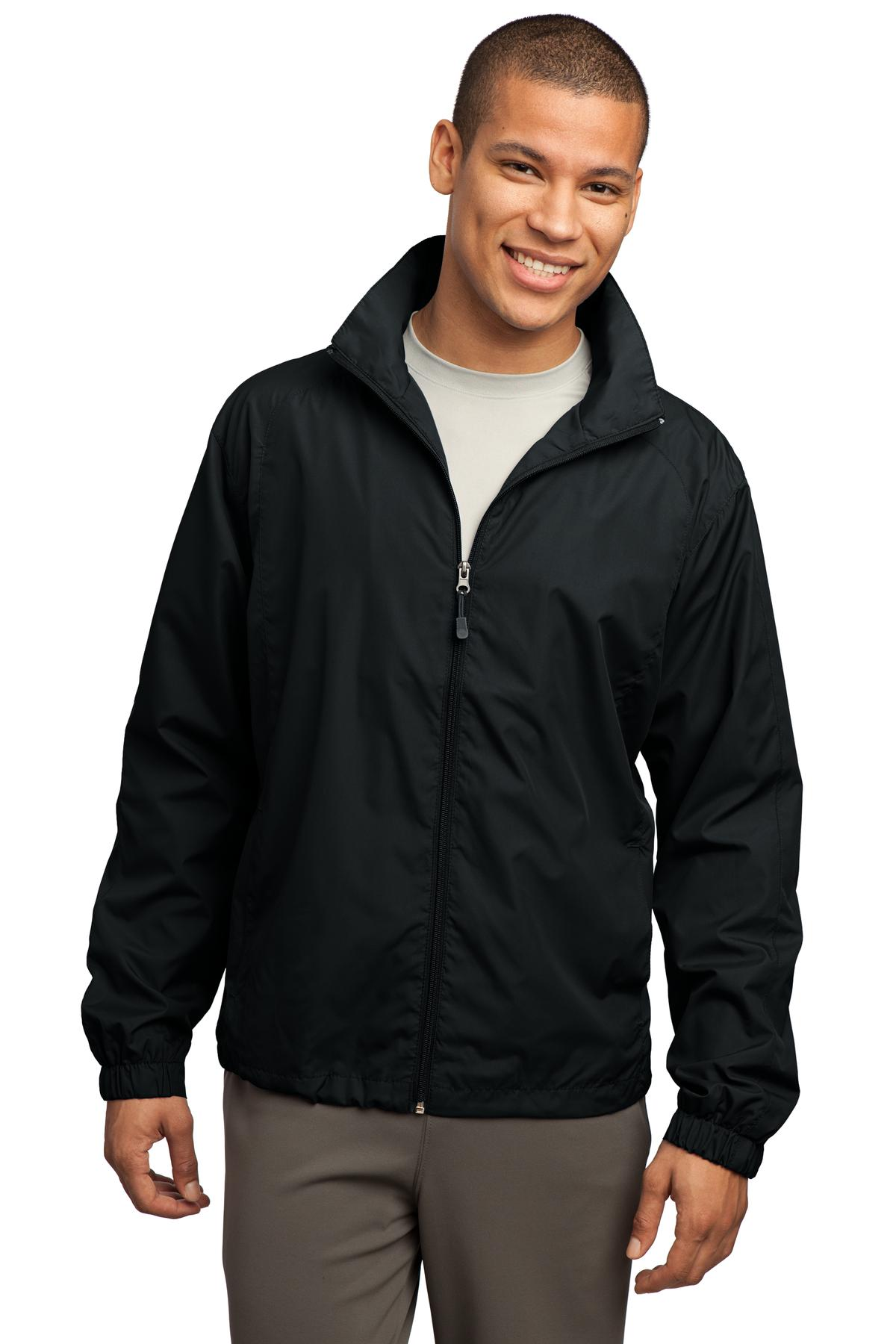 Full-Zip Wind Jacket-Sport-Tek