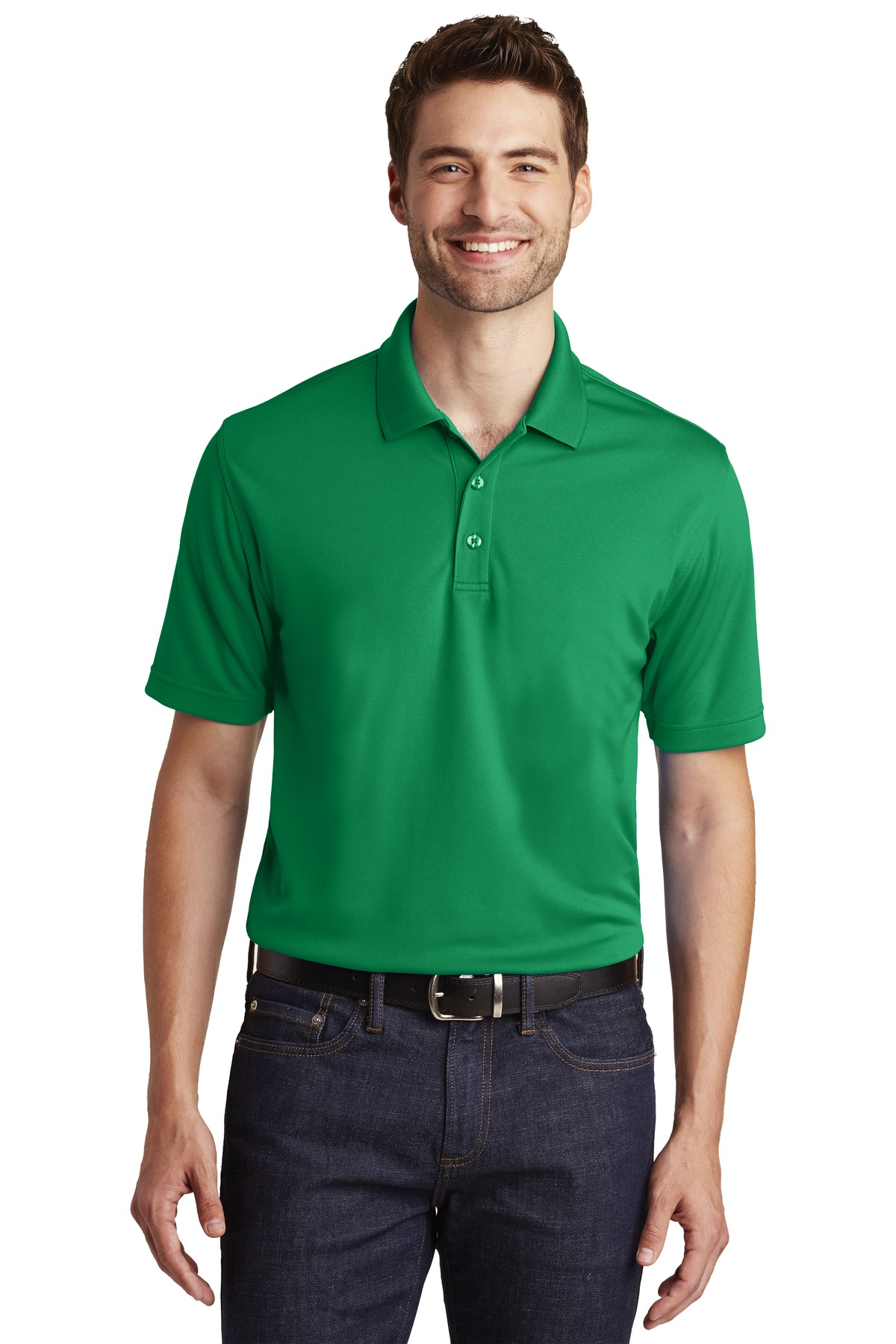 Men's UV Micro-Mesh Dry Zone Polo-