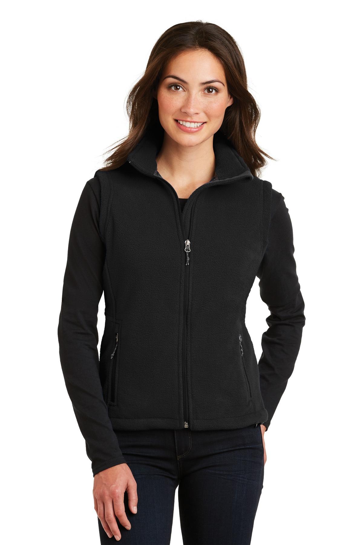 L219 Port Authority® Ladies Value Fleece Vest.-Port Authority
