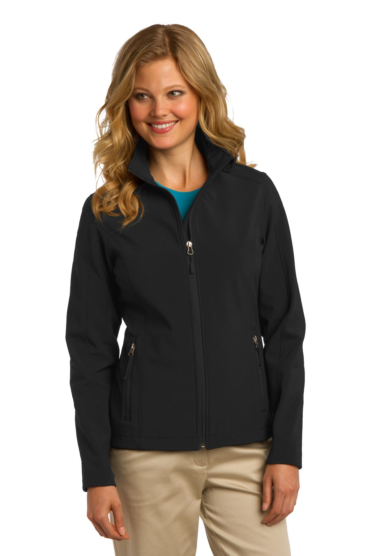 Wake Forest Soft Shell Ladies  Jacket-Port Authority