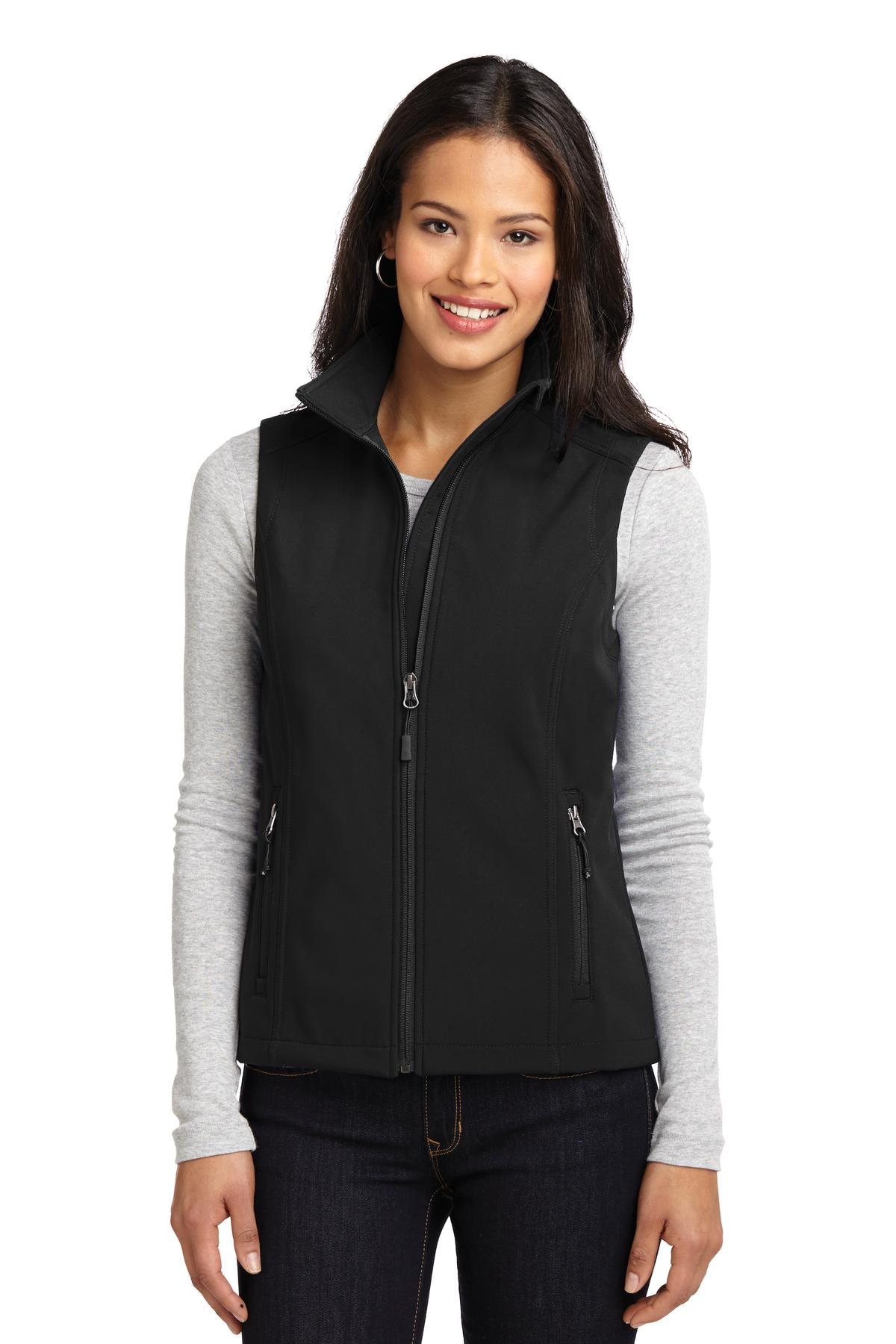 Wake Forest Ladies Core Soft Shell Vest-Port Authority