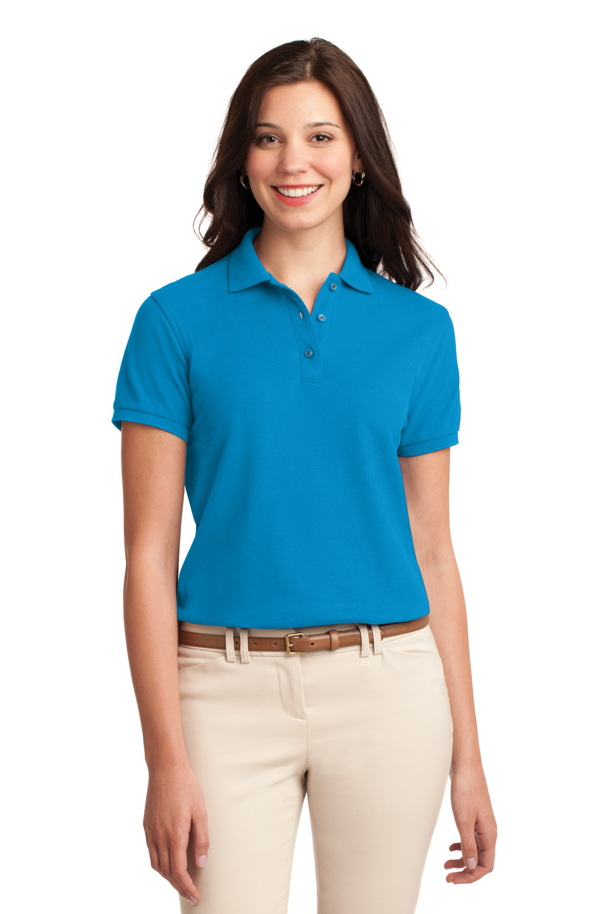 Port Authority® Ladies Silk Touch Polo.-