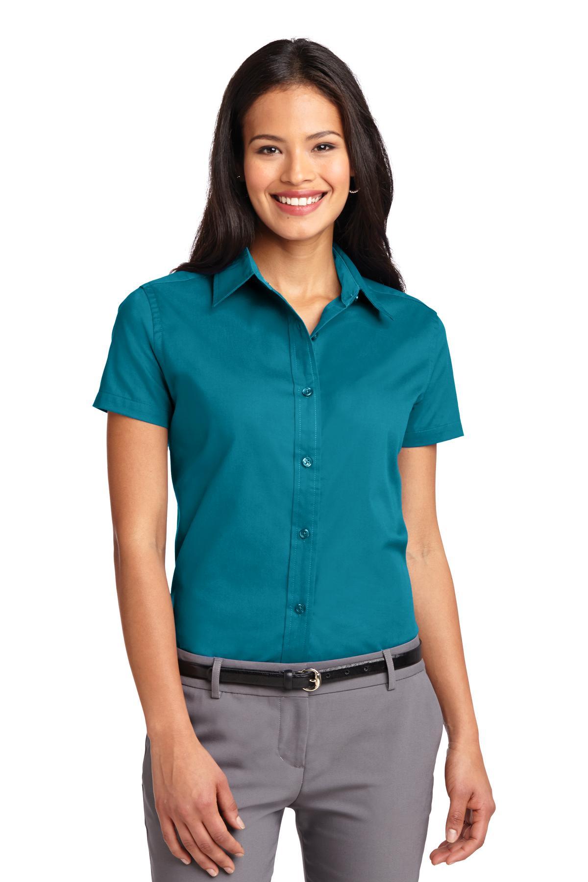 Port Authority® Ladies Short Sleeve Easy Care Shirt.-