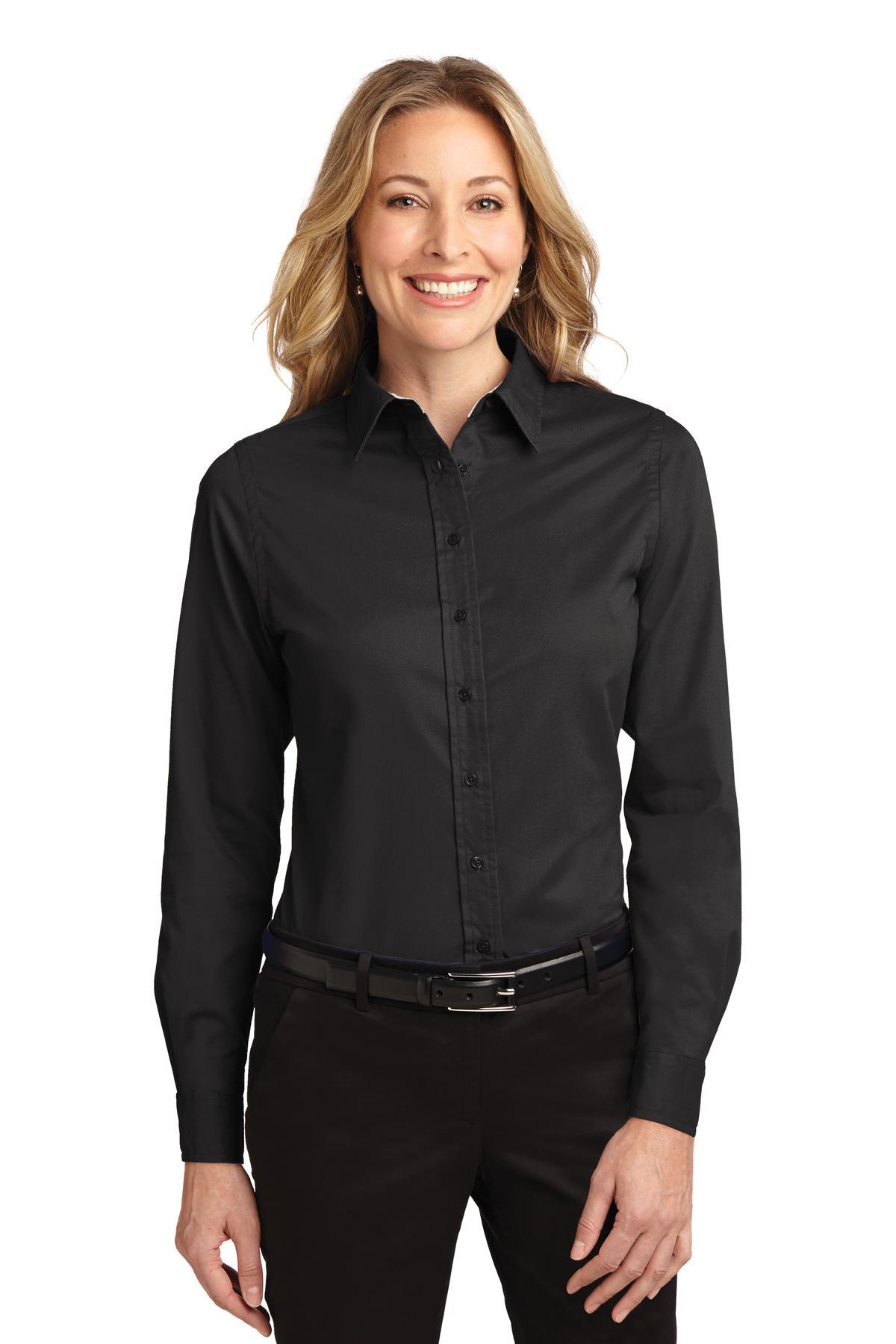 Port Authority® Ladies Long Sleeve Easy Care Shirt.-Port Authority