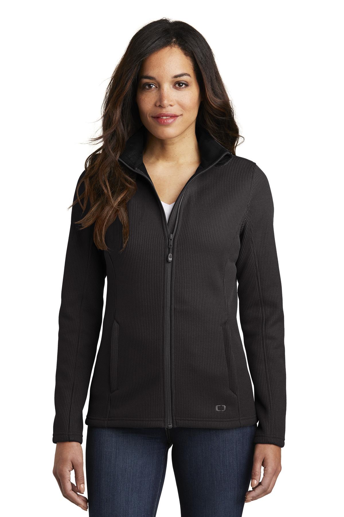 OGIO ® Ladies Grit Fleece Jacket.-OGIO