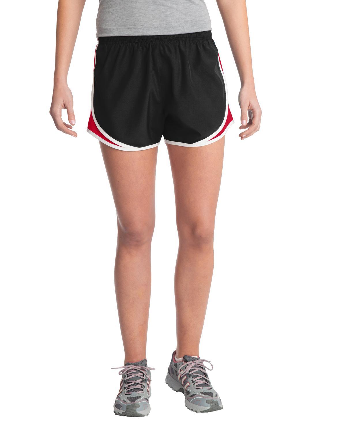Sport-Tek® Ladies Cadence Short.-Sport-Tek