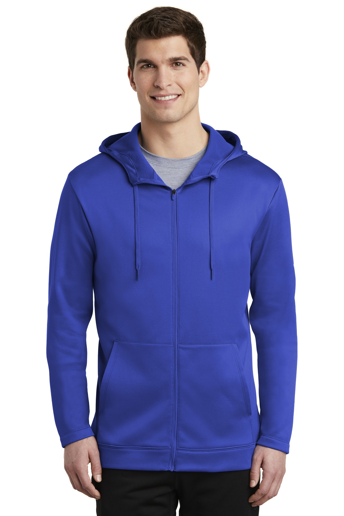 Nike Therma-FIT Full-Zip Fleece Hoodie.-