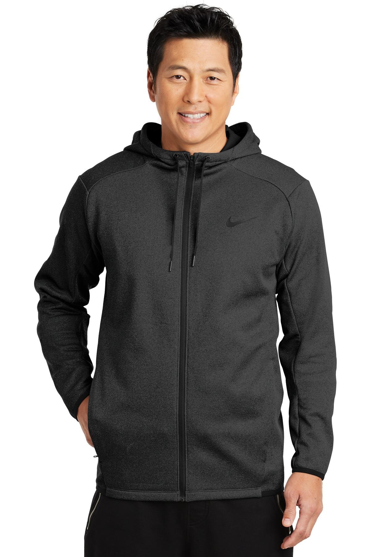 Buy Nike Therma-FIT Textured Fleece Full-Zip Hoodie. - Nike Online ... b15ff419c