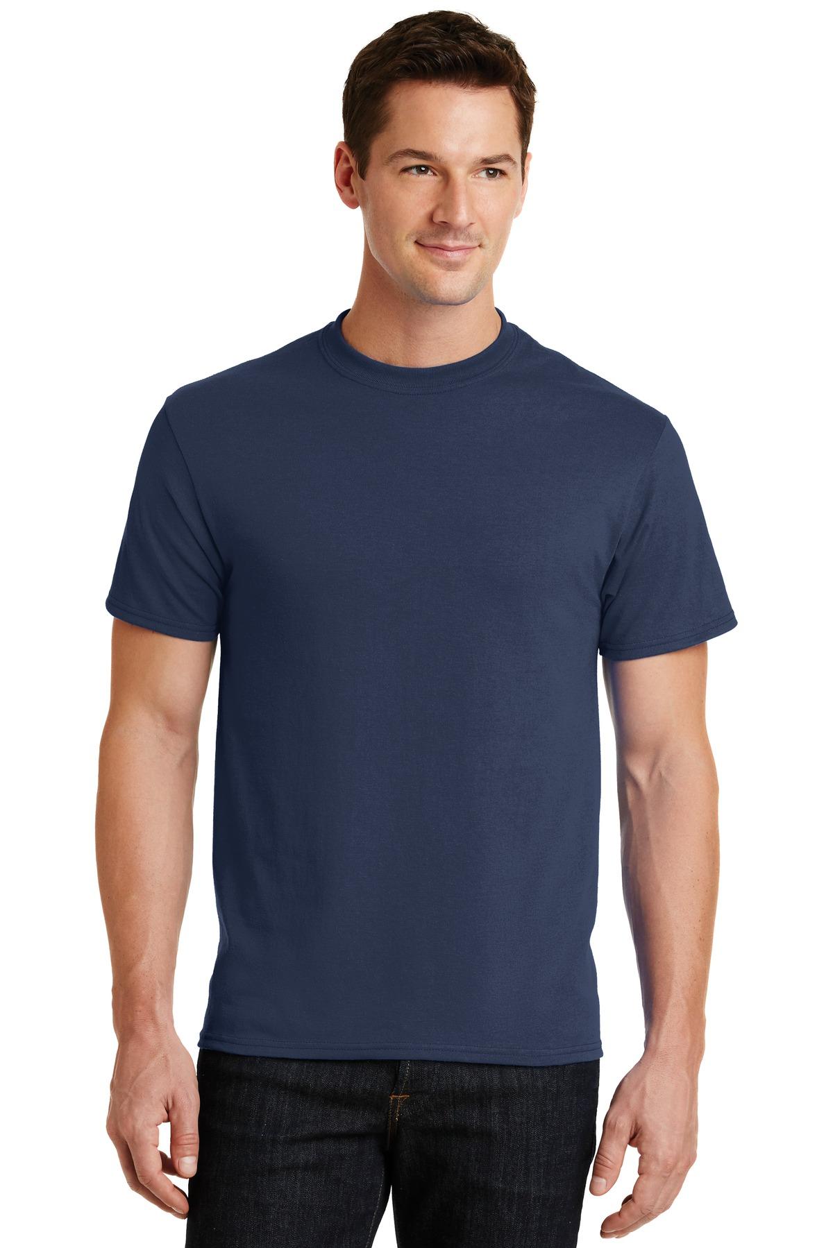 Men's Navy Port & Company® - Core Tee-Port & Company