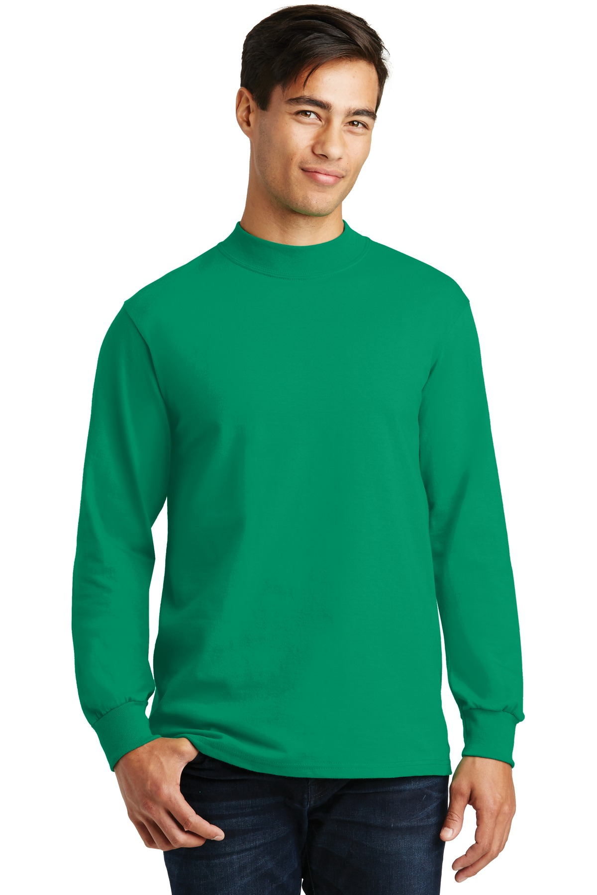 GIS - Flight Deck Jersey Mock Turtleneck.-GIS Inc