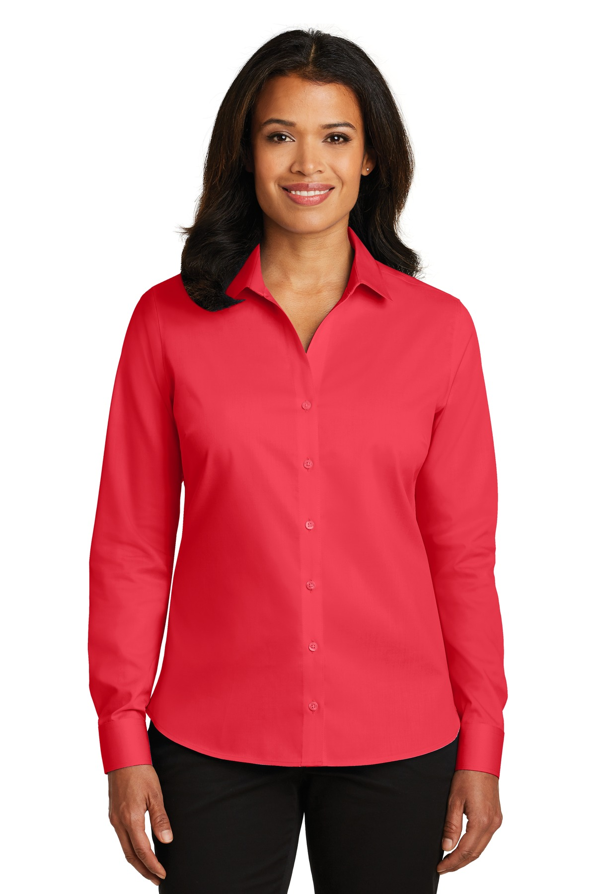 Red House® Ladies Non-Iron Twill Shirt.-