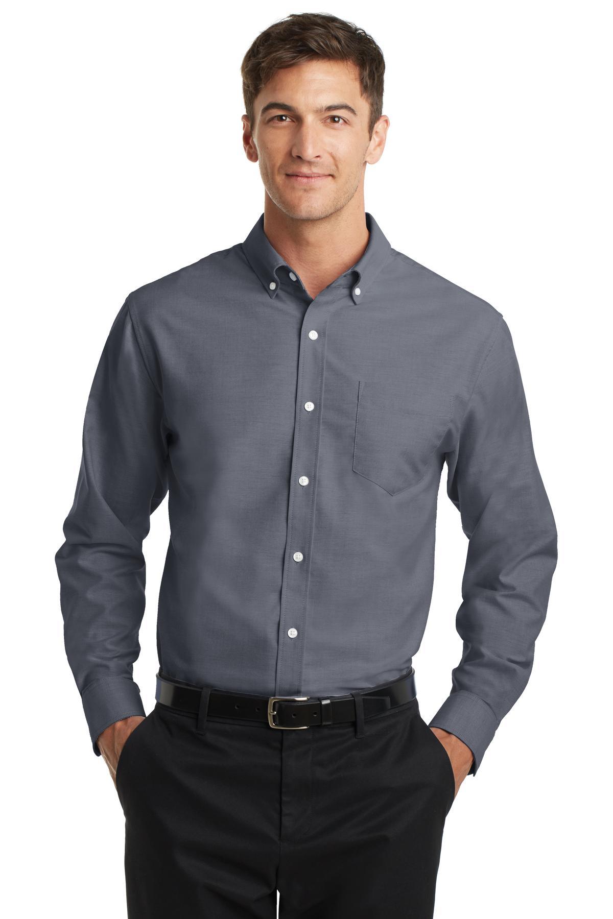Port Authority® SuperPro Oxford Shirt.-Port Authority