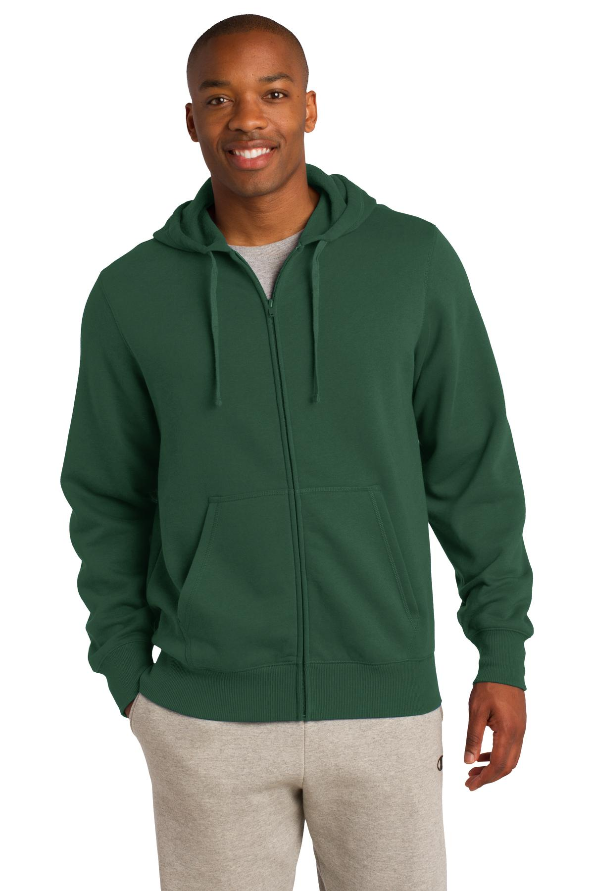 Sport-Tek® Full-Zip Hooded Sweatshirt.-Sport-Tek