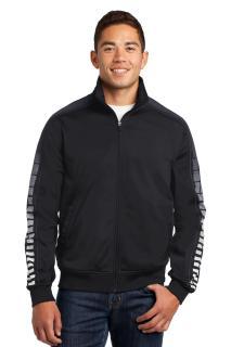 Sport-Tek® Dot Sublimation Tricot Track Jacket.