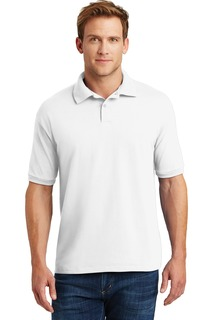 Hanes® EcoSmart® - 5.2-Ounce Jersey Knit Sport Shirt.-