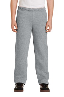 Gildan® Youth Heavy Blend Open Bottom Sweatpant.-Gildan