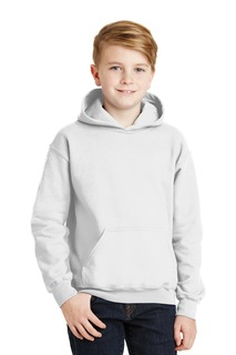 Gildan - Youth Heavy Blend Hooded Sweatshirt.-