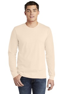American Apparel Fine Jersey Long Sleeve T-Shirt.-Anvil