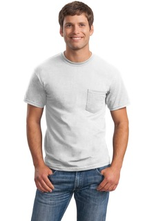 Gildan®-UltraCotton®100%CottonT-ShirtwithPocket.-