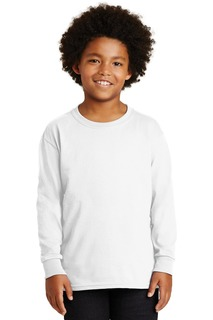 Gildan - Youth Ultra Cotton Long Sleeve T-Shirt.-